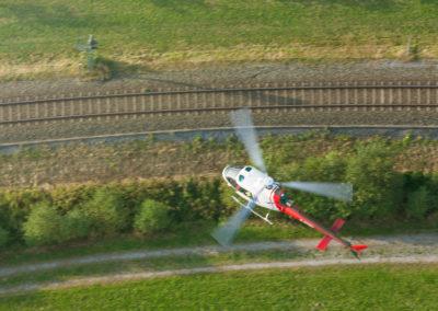 Hubschrauberflug 7