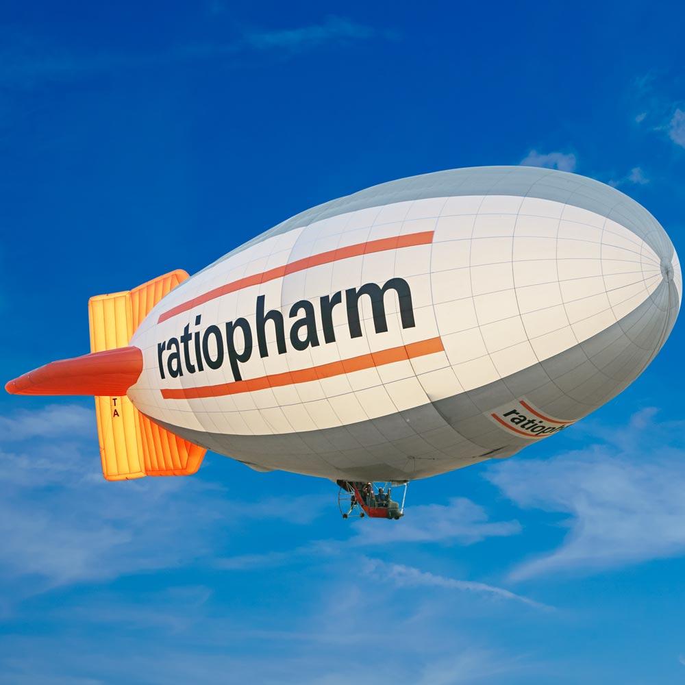 Luftschiff Ratiopharm