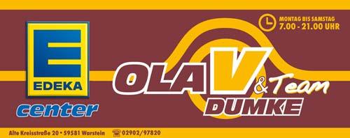 Sponsor Edeka Olav Dumke