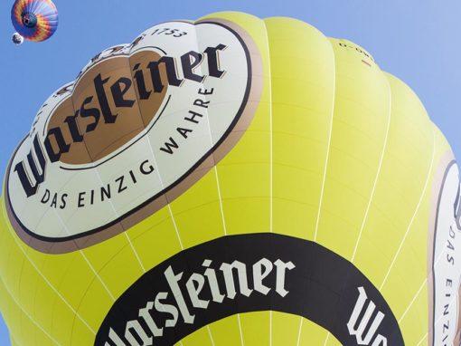 Ballonsport pur: Warsteiner Balloon Challenge